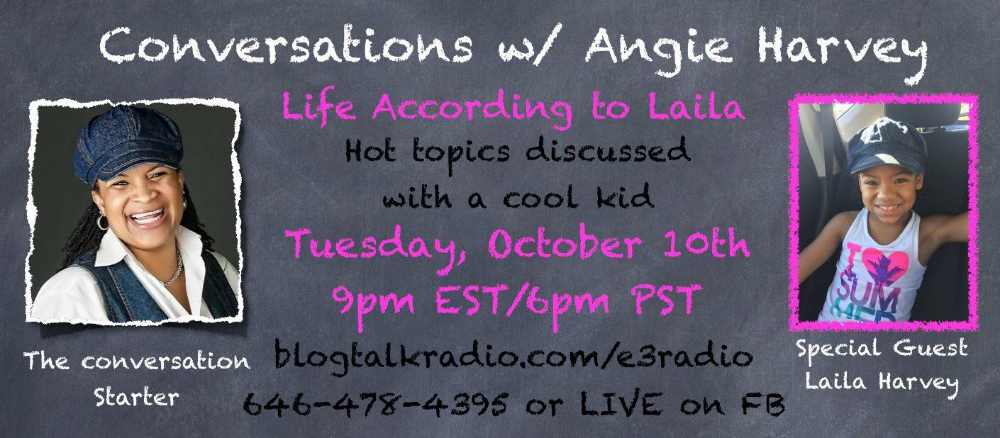 Life According to Laila on Conversations with Angie Harvey